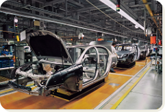 KANBAN management for automotive components