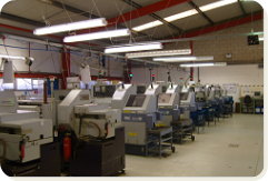 Machine Shop at Technoturn Ltd - PSL Datatrack Users